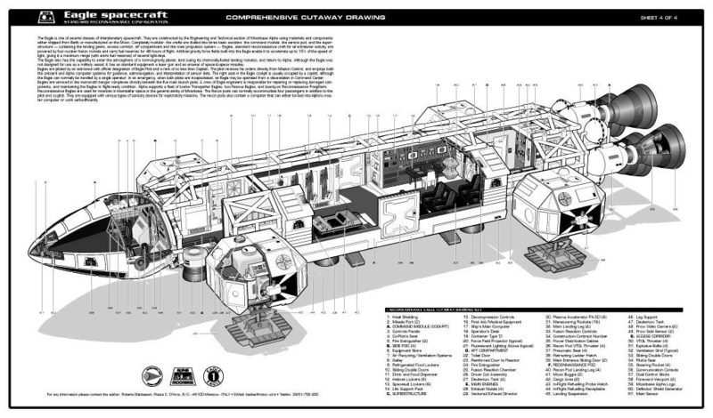 spacecraft cutaway - photo #8